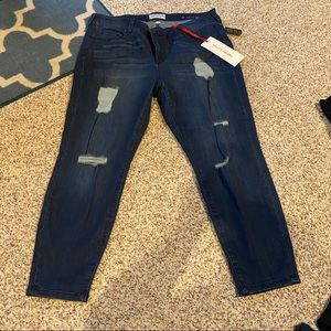 Molly and Isadora straight leg jeans